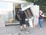 преместване на стелажи извън България