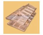 Изработка на дървени стелажи за плодове и зеленчуци