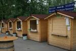 производство на дървени търговски павилиони до 4кв.м